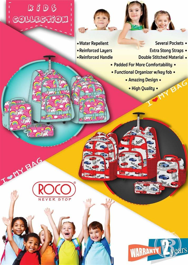 ROCO Bags,14 collections 96 design,Fashion,Business,Technical,Characters
