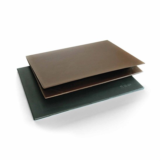 Desk Pad- PVC- 2 plies- 35x50cm- Black