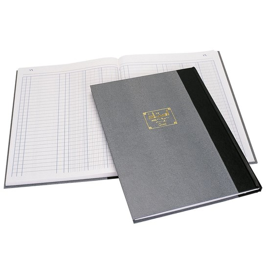 QUEST Ledger Book R.Op- 3 Col.- B4- 100sh