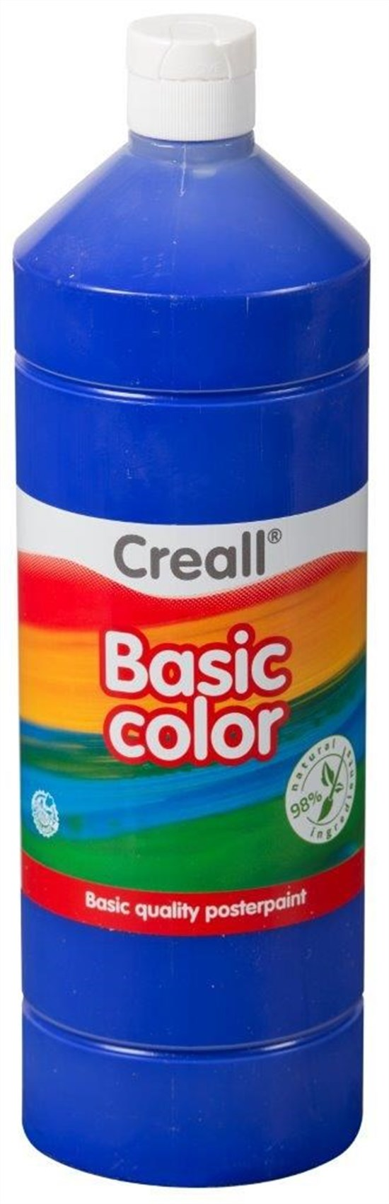 CREALL Gouache Basic 1000ml 12 Royal Blue