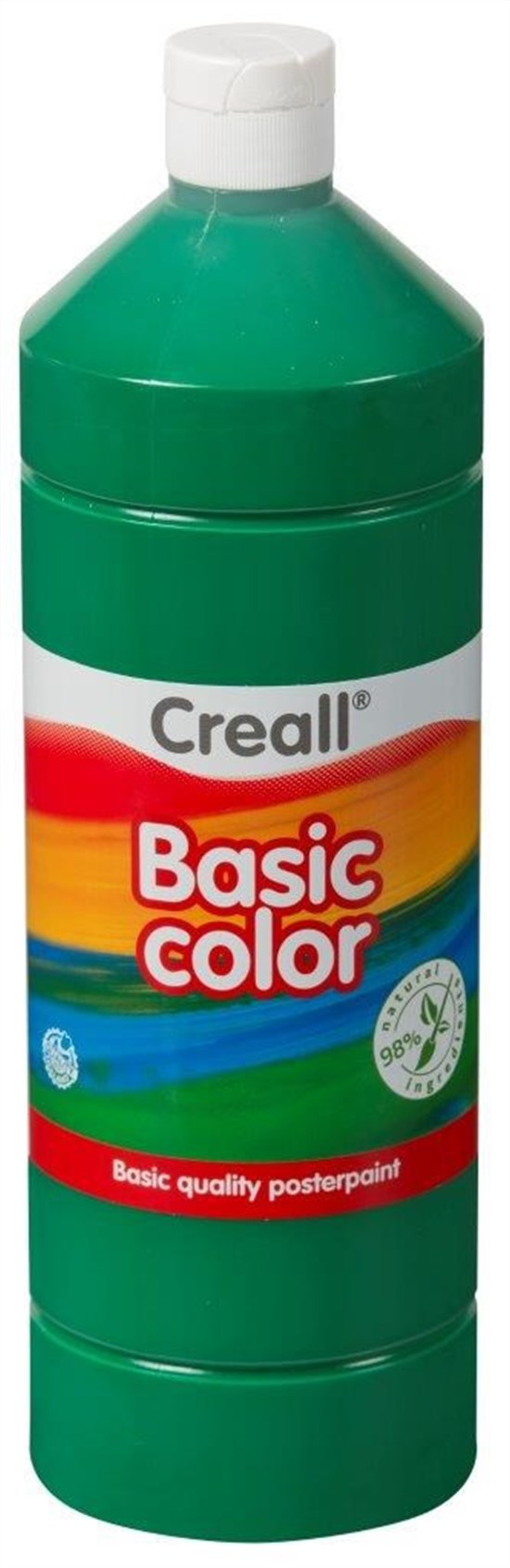 CREALL Gouache Basic 1000ml 16 Dark Green