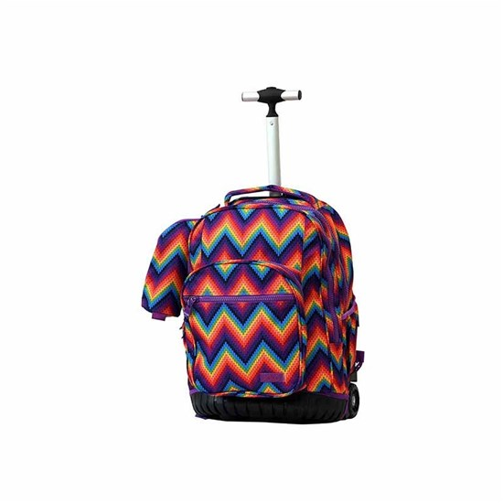 ROCO Trolley2 Printed Rainbow 3 Zip. 19+P.Case