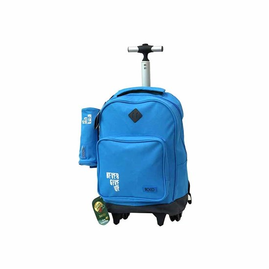 ROCO Trolley1 Basic 2 Zip. 18  Cyan/Grey+P.Case