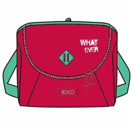 ROCO Lunch Bag  Basic 23(w)x20(h)x14(d)  Red/Green