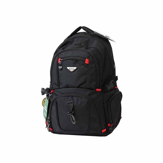 ROCO Backpack Technical Classic Black 2 Zip. 19