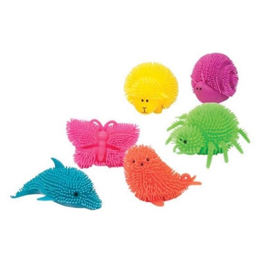 TRENDHAUS Fluffy light-up zoo, 6 styles