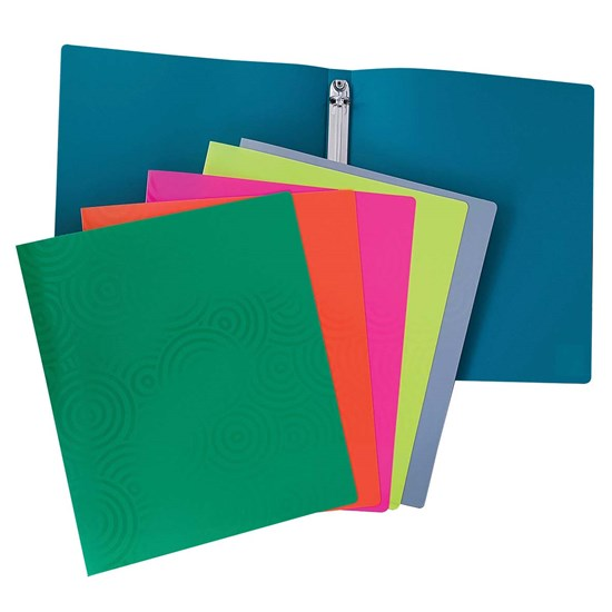 Flexi Flo Ring Binder PP 30mm 4R Asstd. Colors