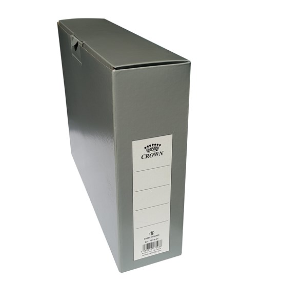 Crown Archive Box Carton 37.2 x 29.6.1x9.6 - Grey