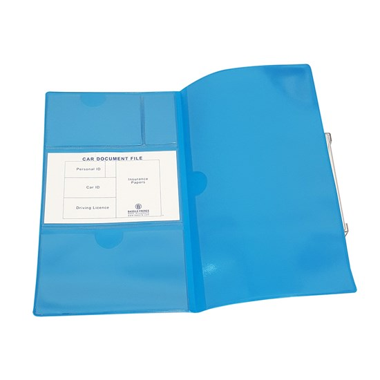 EXTEND PVC Car Document Protector Foldable