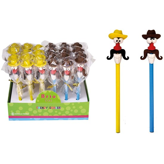 BRIO FUN Pencil with Eraser BOYS