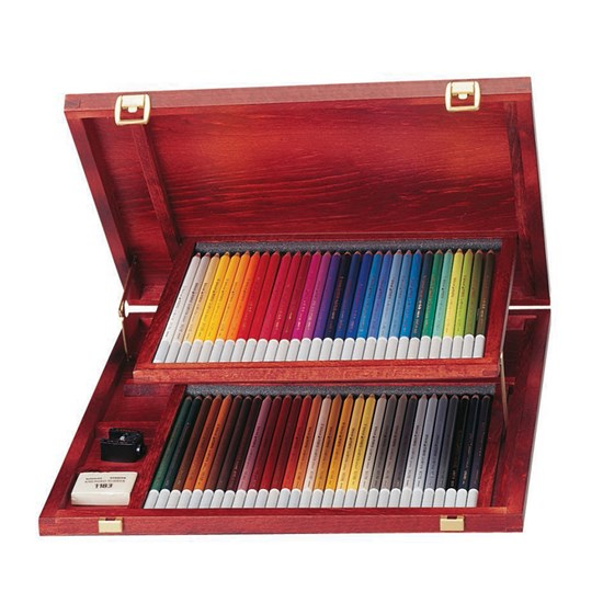 1460-1 CarbOthello Pencil 60 colors in wooden box