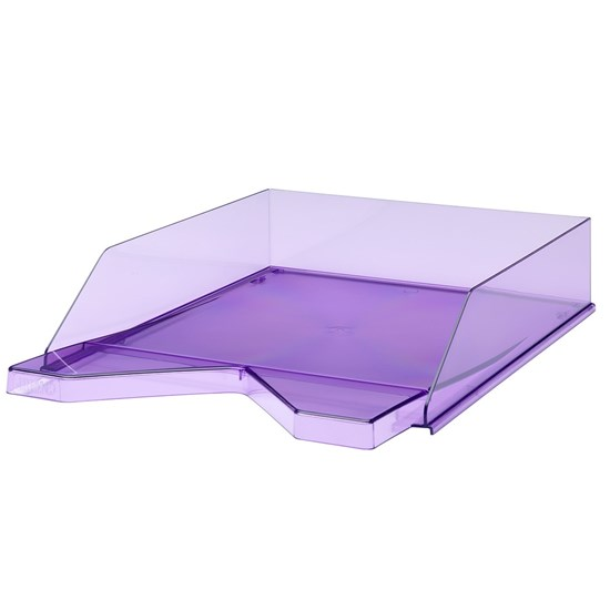Jalema Letter-tray Silky A4, Transparent Purple