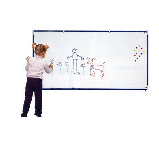 VANERUM SB 30X45cm White board frame Blue