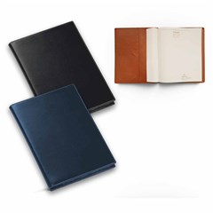 2020 Desk Diary Weekly Portfolio PU Cover,A4 Blue