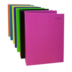 LUSSO Ring Binder Carton 4R 30mm colored