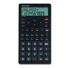 Financial calculator  interest calculus 10Digits