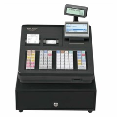 Cash Register 20.000 SKU, SD Card, 64 Key KB White