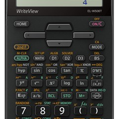 SHARP Scientific Calc. 640 Funct. WriteView Gy/Bk