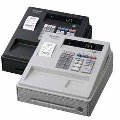 Cash Register , Built-in SD Card, 30 key KB, Black