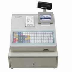 Cash Register , Built-in SD Card, 2000 SKU, White