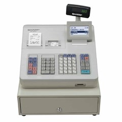 Cash Register , Built-in SD Card, 10.000 SKU,White