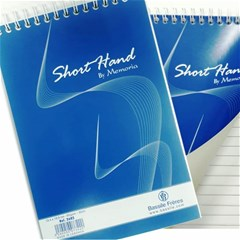 SHORT HAND Notebook spiral 60g -13.3 x 19.8 cm