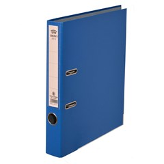 CROWN Letter-file PP 4cm A4 Blue
