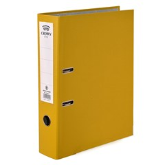 CROWN Letter-file PP 8cm FC Yellow