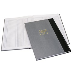 QUEST Ledger Book R.Op- 3 Col.- B4- 192sh
