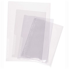 Document protector L shape A3- 0.18mm-Crystal