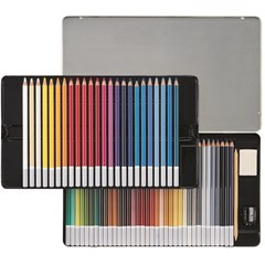 1460-6 CarbOthello Pencil 60 colors in metal box