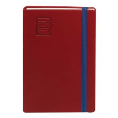 Pocket Notebook 70g PU w/Elastic Cord, Lines