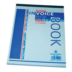 Invoice Book NCR-3 Copies of 25sh Each - B6