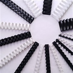 EXTEND Plastic comb 8mm White Box of 100Pcs- A4