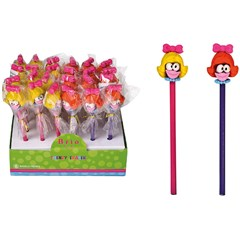 BRIO FUN Pencil with Eraser GIRLS
