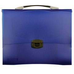 EXTEND Document Bag w/handle and lock,A4,Dark Blue