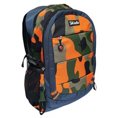 SAKADO Backpack 18'' 3 compartments Army D.Blue/Or