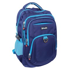 SAKADO Backpack 18.5'' 4 compartments D.Blue/L.Bl