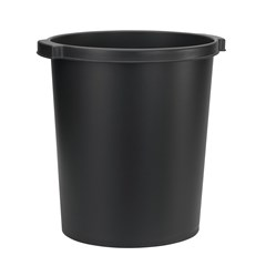 Jalema Re-Solution paper Bin 15 Litres, Black