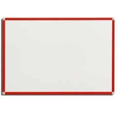 VANERUM SB 60X90cm White board frame Red