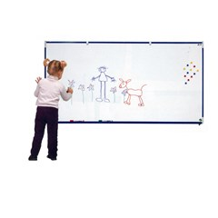 VANERUM SB 45X60cm White board frame Blue