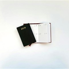 2018 Pocket Diary 2 Days/Page, R.Op.