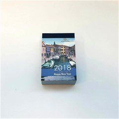 2018 Wall Block Calendar 1Sh/Day, 7x11cm