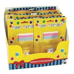 TRENDHAUS Bday FUN candle cake 7Parts/set