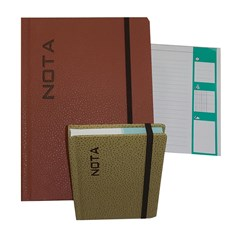 NOTA Notebook Lines With  Elastic A4