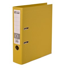 EXTREME Letter-file PP 8cm A4 Yellow