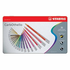 1436-6 CarbOthello 36 colors in metal Box