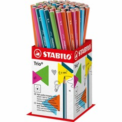 369/72-1HB TRIO Pencil HB 72Pcs in Mini-Display