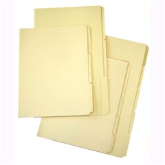 EXTRA Manila Folder 180g- 5 cuts- FC