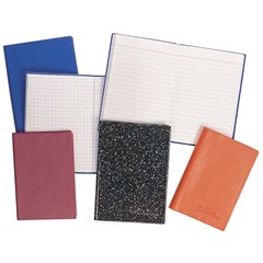 Pocket Notebook PVC Cov- Lines- 8.5x12cm- 64sh